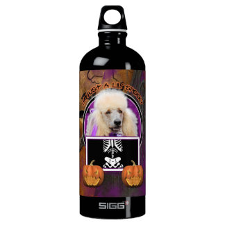 Halloween - Just a Lil Spooky - Poodle - Champagne SIGG Traveler 1.0L Water Bottle
