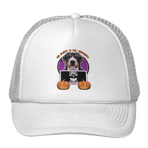 Halloween - Just a Lil Spooky - Swiss Mountain Dog Hat