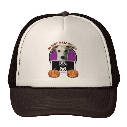 Halloween - Just a Lil Spooky - Whippet Trucker Hats