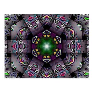 Halloween Kaleidoscope Postcard