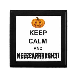 Halloween Keep Calm Gift Box