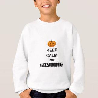 Halloween Keep Calm Sweatshirt