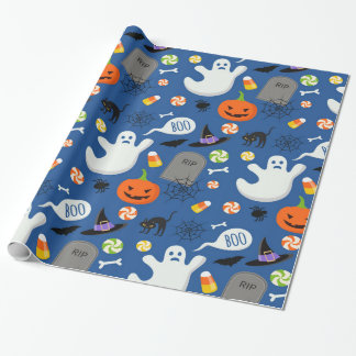 Halloween Kids Design 2 Wrapping Paper