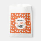 Halloween Kids Ghost Pattern Personalized Party Favour Bag