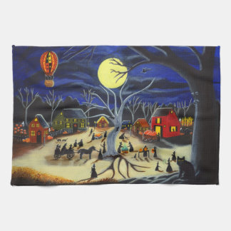 "Halloween kitchen towel ""Hauntoberfest"""