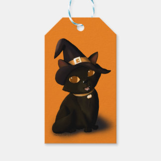Halloween Kitten Pack Of Gift Tags