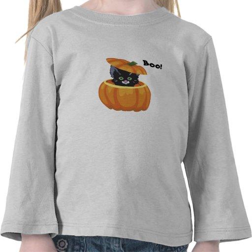 Halloween Kitten Toddler Shirt