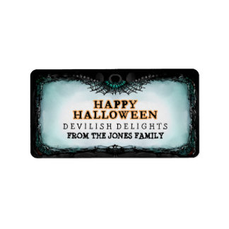 Halloween Label Happy Halloween - Treats Label