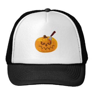 Halloween Lantern Trucker Hat