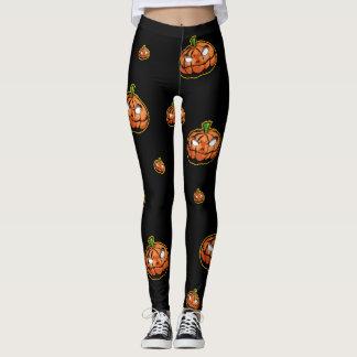 Halloween legs leggings