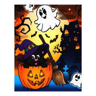 Halloween Letterhead Template