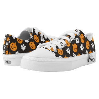 Halloween Low-Top Sneakers