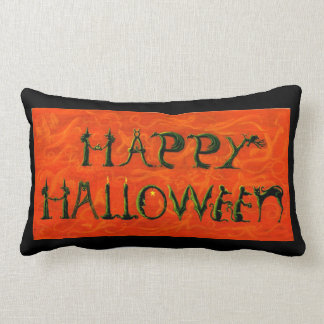 Halloween Lumbar Pillow REVERSIBLE