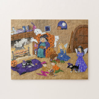 Halloween Magic Puzzle