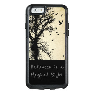 Halloween, Magical Night Black Crows Scary Tree OtterBox iPhone 6/6s Case