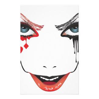 Halloween Makeup Stationery