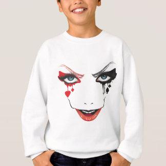 Halloween Makeup Sweatshirt