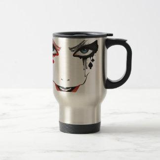 Halloween Makeup Travel Mug