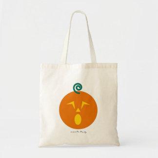 Halloween Martzkin Jack-O-Lantren Treat Tote Budget Tote Bag