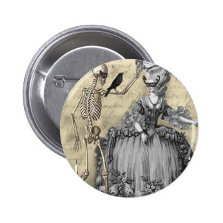 Halloween Masquerade Ball 2 Inch Round Button