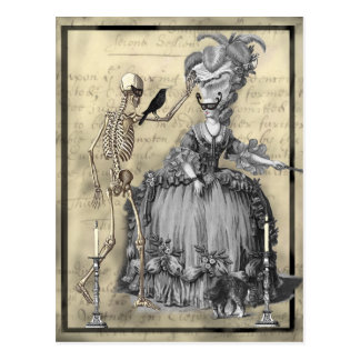 Halloween Masquerade Ball Postcard