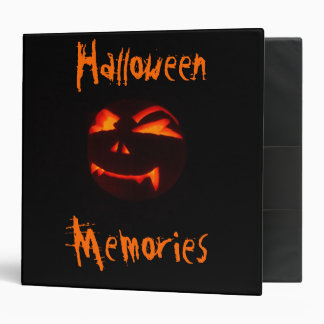Halloween Memories Photo Album 3 Ring Binder