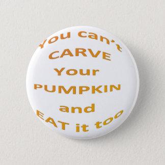 Halloween message 2 inch round button