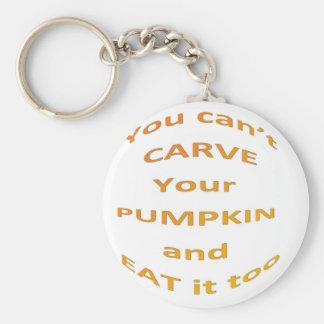 Halloween message keychain