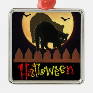 Halloween Metal Ornament