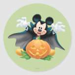 Halloween Mickey Mouse 1 Round Sticker