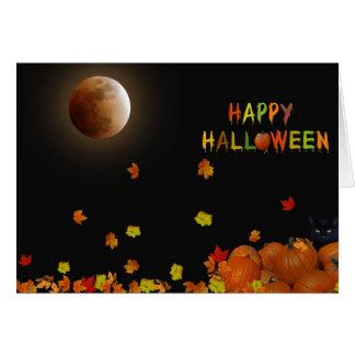 Halloween Midnight Glow Card