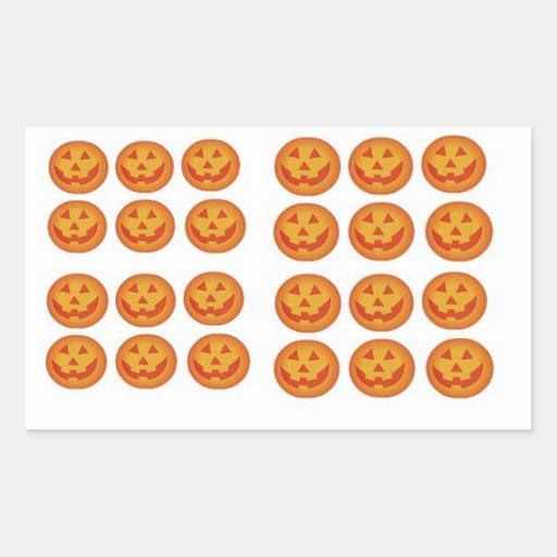 Halloween Mini Jack o Lanterns Sticker
