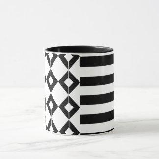 Halloween mix pattern mug