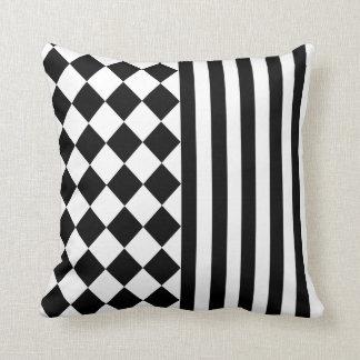 Halloween mix pattern throw pillow
