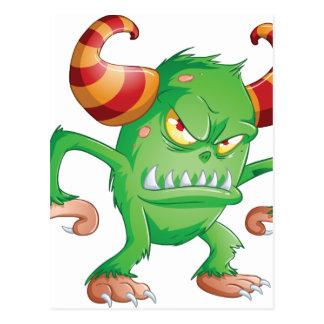 Halloween Monster 3 Postcard