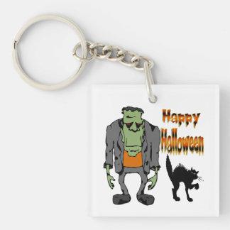 Halloween Monster - Black Cat Key Chain