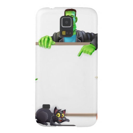 Halloween Monsters Background Sign Samsung Galaxy Nexus Case