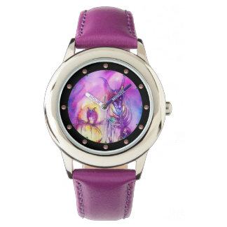 HALLOWEEN MONSTERS / ORC WAR Purple Fantasy Wristwatches