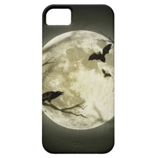 Halloween moon - full moon illustration iPhone 5 covers
