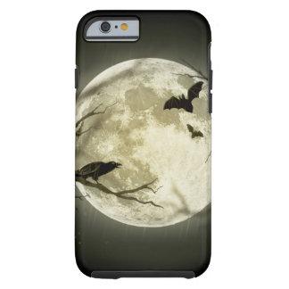 Halloween moon - full moon illustration tough iPhone 6 case