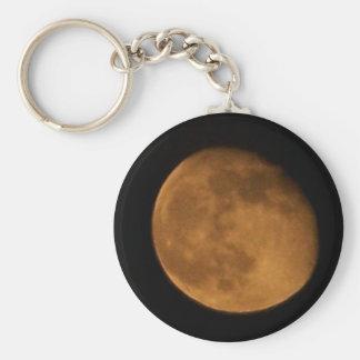 halloween moon keychain