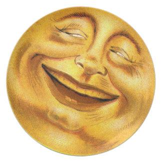 Halloween Moon Plate