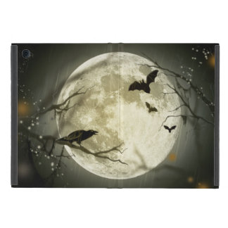 Halloween Moon Spooky Crows Cover For iPad Mini