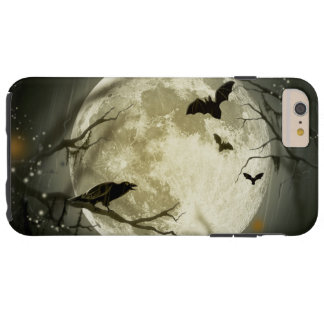 Halloween Moon Spooky Crows Tough iPhone 6 Plus Case
