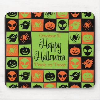 Halloween mosaic mouse pad