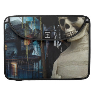 Halloween Mummy and Spooky House Sleeve For MacBooks