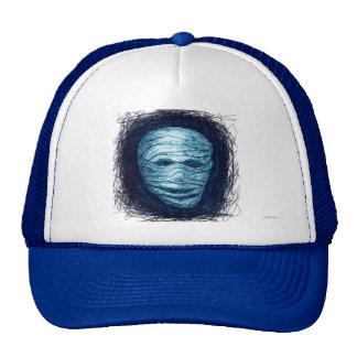 Halloween Mummy Hat Blue
