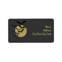 Halloween Night Address Label