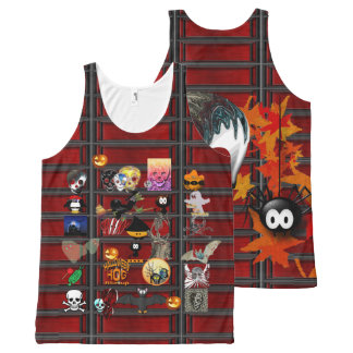 Halloween night All-Over-Print tank top