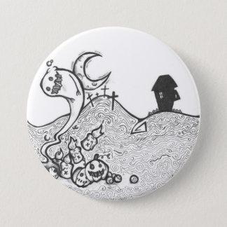 Halloween night Button